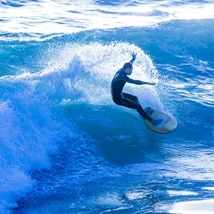 PBSurfer (exceptionaleye) Tags: ocean california color water coast surf pacific action availablelight shoreline wave surfing pacificocean shore pacificbeach canoneos wetsuit watersport stopaction freezeaction freezemotion wavescrashing coastalview wavecrashing