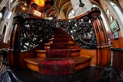 ascend the pulpit (DeCo2912) Tags: belgium sint 8mm ghent gent walimex belgien samyang michielskerk