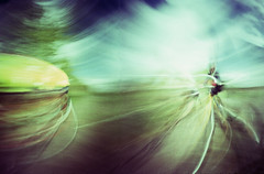 passing cyclists (wheehamx) Tags: motion movement pinhole blend