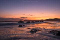 Moeraki Legends (Murphy Osborne Photo) Tags: new orange seascape beach coast sand long exposure ngc reserve icon boulder boulders zealand nz legends otago maori catlins hampden spherical moeraki concretions mudstone calabashes septarian