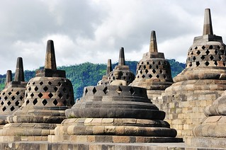 borobudur - java - indonesie 45