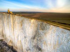On the edge (Andrew Thomas 73) Tags: england photography unitedkingdom aerial eastbourne gb drone phantom3 dji