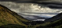 Glen Fyne (MarkWaidson) Tags: storm rain clouds scotland glen loch fyne waidson