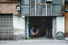 Bicycle repair man, Trn Vn ang, District 3. . #saigon #hcmc #vietnam #vscocam #vscovietnam #ig_vietnam #everydayvietnam #guardiancities #guardiantravelsnaps #triipme #dailylife #streetscene #street #people #workers #everydayasia #igers #instadaily #bic (genochio) Tags: vietnam saigon hcmc