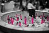 (M.Boubou) Tags: city travel pink friends japan tokyo candle smoke culture visit japenese