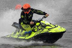 Water Race II (callocx) Tags: water sport race speed boat action sweden splash vsters waterscooter lgarngen