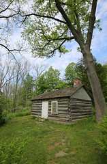 Toronto: The Osterhout log cabin (The City of Toronto) Tags: toronto ontario canada history log inn cabin scarborough guild osterhout