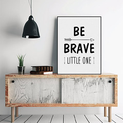 Freeshipping Nordic Minimalist Motivational Typography Brave Quotes A4 Art Print Poster Nursery Wall Art Canvas Painting Boy Kids Room Decor by PicSaying (Mild Art) Tags: art home wall modern print poster typography canvas quotes nordic inspirational decor minimalist motivational