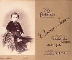 Portrait of a Boy by Clarence James of Louth (Bury Gardener) Tags: uk portrait england vintage victorian lincolnshire cdv oldies louth cartedeviste