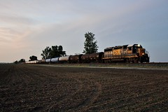 CSX 6062 Columbus Grove D743 5/27/16 (Poker2662) Tags: columbus grove csx 6062 d743 52716