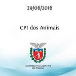 CPI dos Animais 29/06/2016