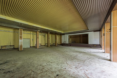 Klubhaus Traktorist (Michael Tger Fotografie) Tags: urban house abandoned germany photography theater fotografie theatre exploring culture east ballroom ddr saal verlassen urbex kulturhaus leerstehend klubhaus