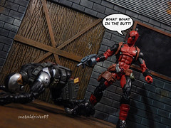 Deadpool funtime part 3 (metaldriver89) Tags: art photoshop comics toy soldier toys actionfigure photography book funny humorous comic action lol humor manga bob wave indoor xmen actionfigures fox hero figure superhero legends wilson wade vs marvellegends studios marvel figures hydra mcu baf articulated marvelcomics avengers juggernaut hasbro scourge ultron antman toyphotography deadpool chimichangas demolitionman acba wadewilson articulatedcomicbookart hyrdrasoldier articulatedcomicbookar