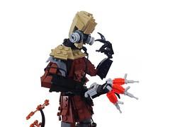 Scarecrow: Eye to Eye? (Tim Lydy) Tags: lego scarecrow batman forms gotham 2016 brickworld