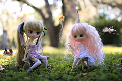Fishy Friends (dreamdust2022) Tags: school cute girl beautiful smart loving happy doll little sweet innocent young adorable teacher sparrow pullip charming unicorn eternity magical playful tender dama foolish shinku mzar trisquette yeolume