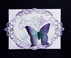 Dream in beauty card (Nupur Creatives) Tags: heartfelt creations heartfeltcreations