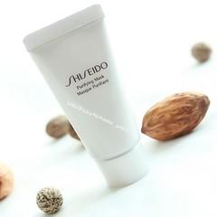 Shiseido Purifying Mask ขนาด 15 ml. มาส์กเนื้อครีมเข้มข้น ช่วยดูดซับสิ่งสกปรกต่างๆที่ติดค้างบนผิวให้หลุดออกอย่างง่ายได้ ช่วยให้ผิวหน้าขาวสว่างใสขึ้น ด้วยสารสกัดจากแร่ธาตุอันบริสุทธิ์ ช่วยคืนความสะอาดใส ผิวหน้าเปล่งปลั่ง มีชีวิตชีวาอย่างที่คุณไม่เคยรู้สึกม