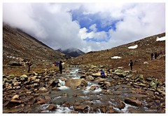 Yumesamdong (Zero point),North Sikkim (Anindya Roy Photography (catching up)) Tags: china cloud india mountain nature canon landscape stream border boulder valley sikkim zeropoint northsikkim yumesamdong