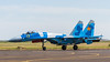Kazakhstan Air Force Sukhoi Su-27M-2 'Flanker' 17 Yellow (Hugh Dodson) Tags: astana kadex2016 kazakhstan kazakhstanairforce sukhoi su27m2 flanker 17yellow