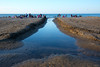 Montrose Beach Canal (Andy Marfia) Tags: sky chicago beach water iso100 canal sand lakemichigan uptown f8 lakefront montrosebeach 1125sec d7100 1685mm