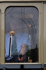 Regen (Marco Moerland) Tags: detail rain museum hand scheveningen trolley den tram haag streetcar wuppertal trams tramway blauwe ts kaufmann regen trolleys wheater stichting kop wetter strassenbahn wiper bonde tramvay vohwinkel tranvia weer trikk tramwaj villamos elctrico vervoer sporvogn  handbediening tramwaje tramways openbaar tranvias elctricos franshalsstraat fahrerstand strassenbahnen tramm tramvie ruitenwisser sprvg tramweg strasenbahn stuurstand sporvei handdriven hovm strasenbahnen tramvaiul raitioliikenne handbettigung scheibenwichser