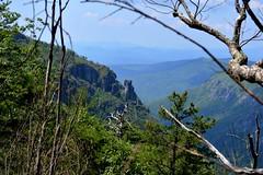 The Chimney (NC Mountain Man) Tags: trees nikon rocks horizon valley thechimney d3200 phixe tablerocknc ncmoountainman