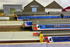 2016_06_26-1 (jonf45 - 2.5 million views-Thank you) Tags: train layout model br rail railway class 423 british network bachmann southeast 50 moor oo gauge hornby 108 nse langford 416 dmu class50s 2epb 4vep