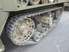 Half Track close-up detai -WW II Half Track M5 International Harvester (John(cardwellpix)) Tags: detail up june army for track day close gear running 18th international half british weymouth m5 harvester produced forces manufactured armed 2016