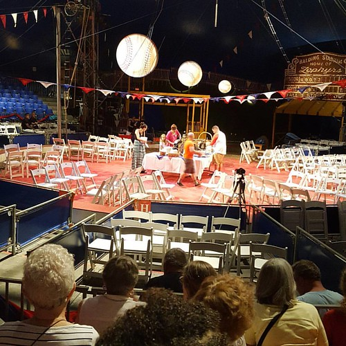 Almost ready for the volunteer dinner, after the group photo. @circusflora www.circusflora.org #circusflora #volunteer