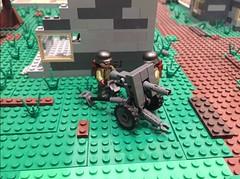 Leichtgeschutz 42 (Brick Lieutenant) Tags: lego military ww2 germans brickarms legomilitary legoww2 lg40 leichtgeschutz40