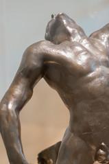 El hombre que cae (roshua_quest) Tags: plaza sculpture art mxico arte escultura museo mx rodin auguste carso ciudaddemxico soumaya