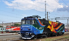 477 871-4@ Constanta (Chirila Alexandru) Tags: train rail railway trains electro trainz cfr romane asea calatori putere pasarea caile ferate le5100 maiastra softronic