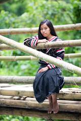 Liza (Graham Savage Photography) Tags: lake girl sebu kini tboli tdaan