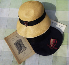 Hats and mags (Durley Beachbum) Tags: stilllife hats magazines bournemouth talbotheathschool 116picturesin20165
