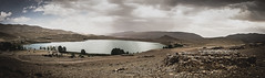 Lac de Tislit (Admiral Vibration) Tags: africa mountain lake colour landscape marocco