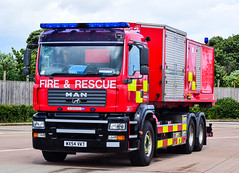 WX54VKT (firepicx) Tags: rescue fire prime high northumberland service emergency mover volume unit 999 pumping hvpu wx54vkt