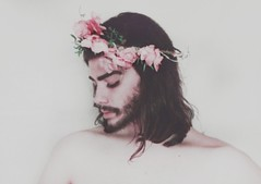 The flower bloomed and faded (Peter Tatsis) Tags: ocean travel flowers blue boy sea roses sky inspiration man black hot men guy art nature fashion rose modern vintage hair naked polaroid skinny photography sadness model scenery flickr artist sad artistic folk grunge hipster handsome style books minimal pale retro greece indie romantic mustache boho artifact paleblue virginiawoolf tumblr tumblrboy palegrunge