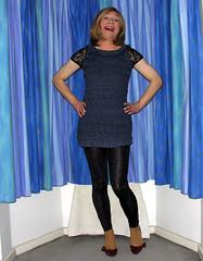 spring collection 2013, #5 new top (gillian .) Tags: tv dress feminine cd tgirl transgender mature tranny blonde transvestite heels crossdresser ts tg minidress