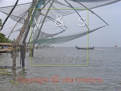 JL040066 (yogesh s more) Tags: ocean travel sea vacation india lake fish seascape color reflection net tourism beach nature water beauty crimson horizontal landscape asian coast fishing fisherman holidays asia place mask dusk web indian south traditional famous chinese dramatic landmark kerala tourist calm business coastal tropical coastline tradition nets cochin interest kochi kochin fishery