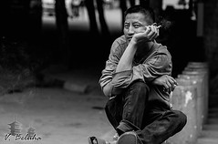 You`ll never smoke alone (Made in China.) Tags: poverty china street portrait art face asian photography asia emotion smoke capital culture chengdu smoker sichuan inspire slum slumdog lonelysmoker