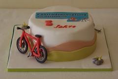 (Ssses Atelier) Tags: cake to torte fondant fahrad tortendekoration firmentorte tortenkunst