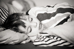 sleeping darling (Corina H.) Tags: boy sleeping portrait white black boys children nikon child lashes sweet dream indoor dreaming kind lonely 50 bub junge wimpern alleine