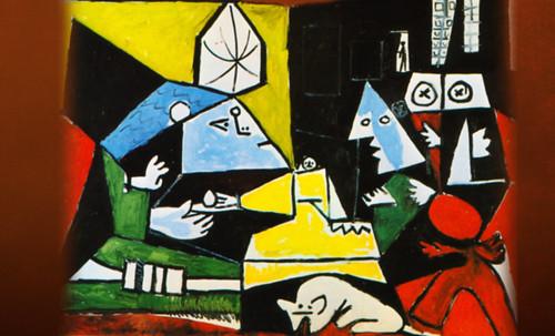 """Meninas, iconósfera de Diego Velazquez (1656), estudio de Francisco de Goya y Lucientes (1778), paráfrasis y versiones Pablo Picasso (1957). • <a style=""""font-size:0.8em;"""" href=""""http://www.flickr.com/photos/30735181@N00/8746859775/"""" target=""""_blank"""">View on Flickr</a>"""