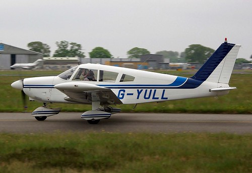 G-YULL. Piper Pa.28-180 Cherokee ~ 21st May 2013.