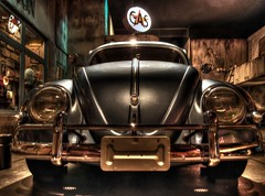 Volkswagen Beetle Type I (Matthias Harbers) Tags: auto car japan shop museum photoshop canon germany volkswagen tokyo beetle powershot labs type 1957 dxo oldtimer odaiba hdr minato ausstellung cardealer topaz carmuseum g11 youngtimer wagen automobil automuseum 3xp photomatix toyotamegaweb tonemapped i