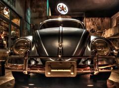 Volkswagen Beetle Type I (Matthias Harbers) Tags: auto car japan shop museum photoshop canon germany volkswagen tokyo beetle powershot labs type 1957 dxo oldtimer odaiba hdr minato ausstellung cardealer topaz carmuseum g11 youngtimer wagen automobil automuseum 3xp photomatix toyotamegaweb tonemapped i flickraward