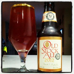 Wow this is good. Old Stock Ale 2012 from North Coast Brewing Co. 11.7% #BeersIn (BeersInBoston) Tags: beer brewery brew craftbeer beersin
