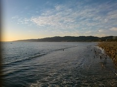 CAM00204 (Kaseim Johnson) Tags: ocean california santa ca sunset beach los angeles monica