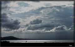 Nubes en el Mar Menor (P e p a) Tags: mar nubes verano cielos vacaciones mangadelmarmenor