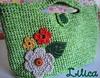 Bolsa Menina Flor (_Lilica_) Tags: flores crochet craft bolsa bolsinha crochê floresemcrochê bolsinhaemcrochê